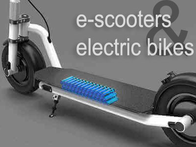 e-scooter and electric bikes
